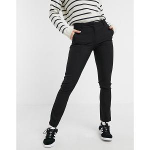 ニュールック レディース スキニー・スリム ボトムス・パンツ New Look Stretch Slim Leg Trousers Black|fermart