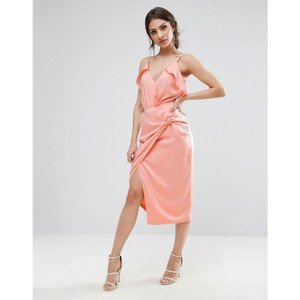 ラヴィッシュアリス レディース ペンシルスカート スカート Lavish Alice Pencil Skirt With Knot Front Pink fermart