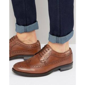 シルバー ストリート メンズ 革靴・ビジネスシューズ シューズ・靴 Brogues In Tan|fermart
