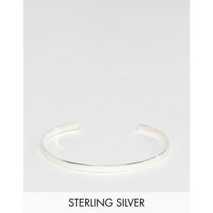 デザインBロンドン DesignB London メンズ ブレスレット ジュエリー・アクセサリー DesignB cuff bangle bracelet in sterling silver exclusive to asos|fermart