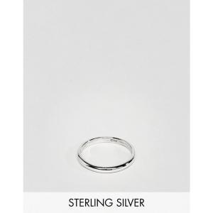 デザインBロンドン メンズ 指輪・リング ジュエリー・アクセサリー DesignB Band Ring In Sterling Silver Exclusive To ASOS Silver fermart