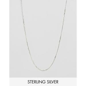 デザインBロンドン DesignB London メンズ ネックレス ジュエリー・アクセサリー DesignB chain necklace in sterling silver exclusive to asos Silver fermart