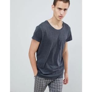 チープマンデー メンズ Tシャツ トップス Cap Pocket T-Shirt Grey|fermart