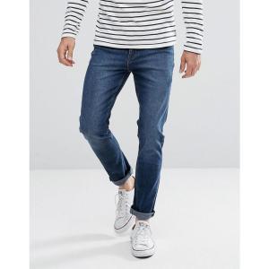 チープマンデー メンズ ジーンズ・デニム ボトムス・パンツ Cheap Monday Sonic Slim Jeans Sure Blue Blue|fermart