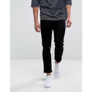 チープマンデー メンズ ジーンズ・デニム ボトムス・パンツ Cheap Monday Sonic Slim Jeans Deep Black Black|fermart