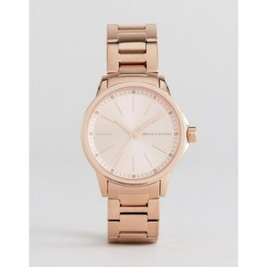 アルマーニ Armani Exchange メンズ 腕時計 AX4347 Bracelet Watch In Rose Gold Rose gold|fermart