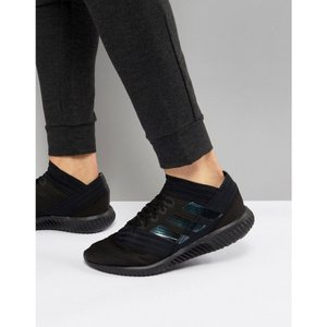 アディダス Adidas メンズ シューズ・靴 サッカー Football Nemiziz trainers in black bb3660 Black|fermart