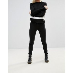 チープマンデー レディース ジーンズ・デニム ボトムス・パンツ Cheap Monday Second Skin Jeans New black|fermart