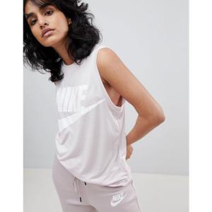 ナイキ レディース タンクトップ トップス Nike Muscle Tank Top In Pink Barely rose/barely r|fermart