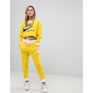 ナイキ レディース スウェット・ジャージ ボトムス・パンツ Exclusive To ASOS Archive Sweatpants In Yellow Vivid sulfur/white|fermart