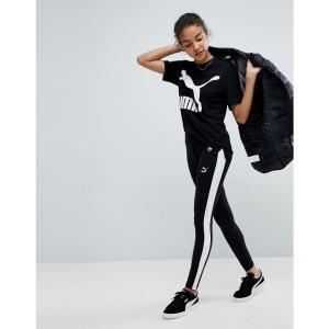 プーマ レディース スパッツ・レギンス インナー・下着 Puma Classics Logo T7 Leggings Black|fermart