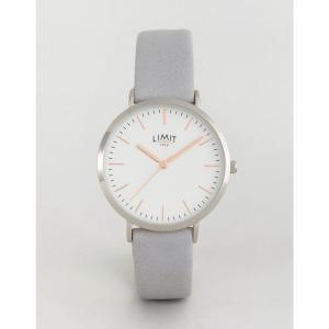 リミット Limit メンズ 腕時計 watch in grey exclusive to ASOS Grey|fermart
