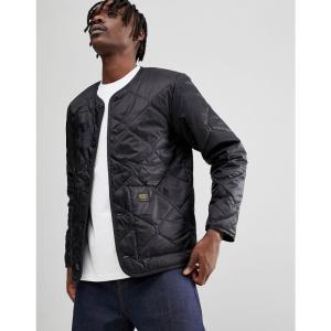カーハート Carhartt WIP メンズ ジャケット アウター Vault quilted liner Black|fermart