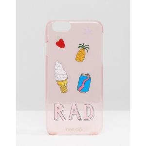 バン ドー レディース iPhone (6/6s)ケース Ban.do Iphone 6 Case In Sticker Print Multi|fermart