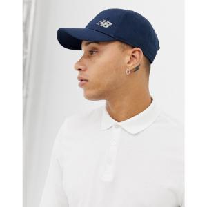 ニューバランス New Balance メンズ キャップ 帽子 Curved Peak Cap Blue|fermart