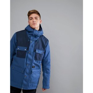 ビラボン メンズ ジャケット アウター Billabong Working Snow Jacket in Dark Blue Dark blue|fermart