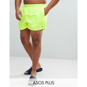 ナイキ メンズ 海パン 水着・ビーチウェア Nike Plus Volley Super Short Swim Short In Yellow NESS8830-737 Yellow fermart