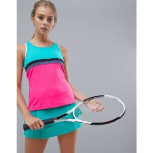 アディダス Adidas レディース トップス テニス adidas Tennis Club Tank In Colourblock Hi-res aqua|fermart