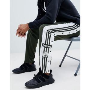 アディダス メンズ ジョガーパンツ ボトムス・パンツ adidas Originals adibreak Popper Joggers In Green DH5749 Green|fermart