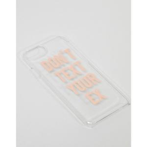 ニュールック レディース iPhone (6/6s)ケース Don't Text Your Ex IPhone 6 Case Silver|fermart