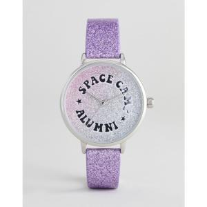 エイソス レディース 腕時計 DESIGN Iridescent Space Camp Watch Multi|fermart