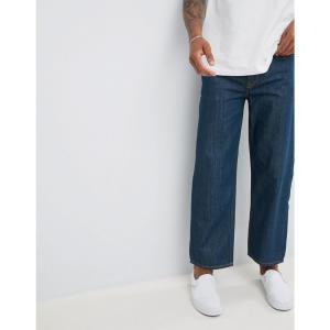 ディーゼル メンズ ジーンズ・デニム ボトムス・パンツ Diesel Dagh Wide Leg Jeans 084UR Indigo|fermart