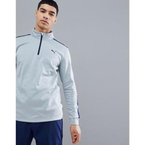 プーマ メンズ トップス ゴルフ Golf Fleece Half Zip In Grey 57454002 Grey|fermart