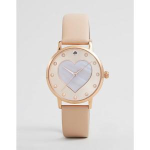 ケイト スペード メンズ 腕時計 Metro Leather Watch Pink|fermart