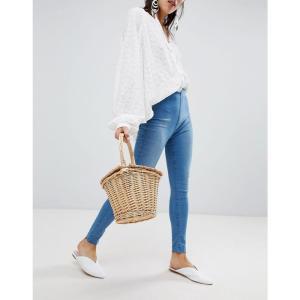 フリーピープル レディース ジーンズ・デニム ボトムス・パンツ Free People Easy Goes It skinny jeans Lt denim|fermart