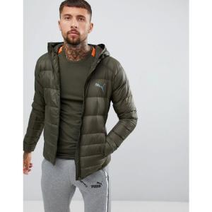 プーマ Puma メンズ ジャケット アウター Packable Hooded Jacket In Green 85162115 Green fermart