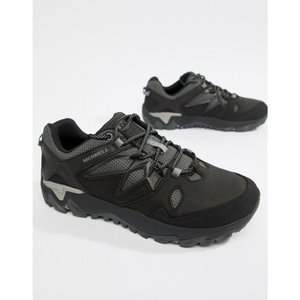 メレル Merrell メンズ シューズ・靴 ハイキング・登山 All Out Blaze 2 hiking trainers in black Black|fermart
