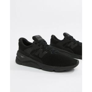 ニューバランス New Balance メンズ スニーカー シューズ・靴 X90 Trainers In Black MSX90CRE Black|fermart