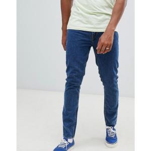 チープマンデー Cheap Monday メンズ ジーンズ・デニム ボトムス・パンツ Slim Tapered Jeans In Blue Norm core|fermart
