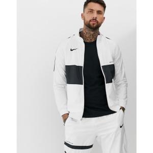 ナイキ Nike メンズ ジャージ アウター FC Track Jacket In White White|fermart