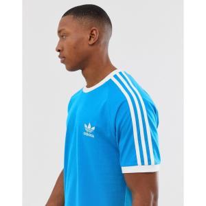 アディダス adidas Originals メンズ Tシャツ トップス california t-shirt in blue Blue|fermart