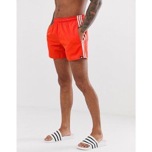 d2cf5109ab7 アディダス adidas メンズ 海パン 水着・ビーチウェア Adidas swim shorts with stripes in red Red