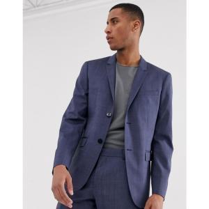 カルバンクライン Calvin Klein メンズ スーツ・ジャケット アウター slim fit suit jacket Blue|fermart
