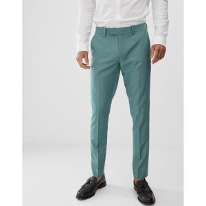 ファラー Farah Smart メンズ スラックス ボトムス・パンツ Farah Henderson skinny fit trousers in green Green|fermart