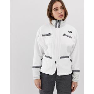 ザ ノースフェイス The North Face レディース フリース トップス 92 Rage full zip fleece in white Tnf white rage combo fermart