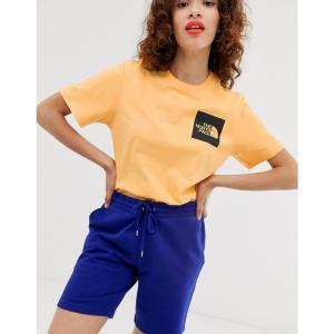 ザ ノースフェイス The North Face レディース Tシャツ トップス Fine t-shirt in orange Warm apricot orange fermart