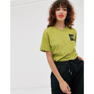ザ ノースフェイス The North Face レディース Tシャツ トップス Fine t-shirt in green Lemongrass green fermart