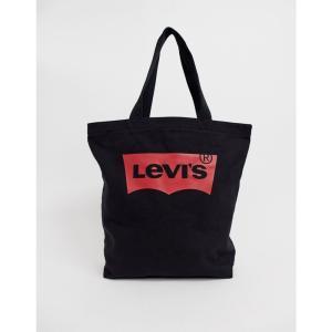リーバイス Levis メンズ トートバッグ バッグ Batwing tote bag black Black|fermart