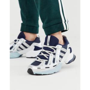 アディダス adidas Originals メンズ スニーカー シューズ・靴 EQT gazelle trainers in navy and white ネイビー/ホワイト|fermart