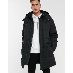 カルバンクライン Calvin Klein メンズ ダウン・中綿ジャケット アウター synthetic down parka in black|fermart