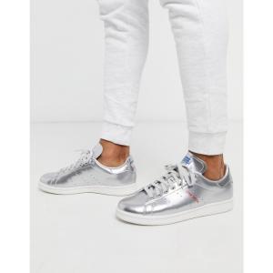 アディダス adidas Originals メンズ スニーカー スタンスミス シューズ・靴 stan smith trainers silver leather tech pack メタリック|fermart
