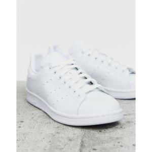 アディダス adidas Originals メンズ スニーカー スタンスミス シューズ・靴 Stan Smith trainers in white ホワイト|fermart