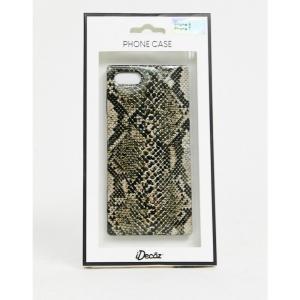アイデコ iDecoz レディース iPhone (8)ケース i-Decoz snake iphone 7/8 case マルチカラー|fermart