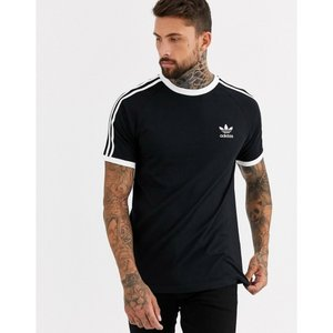 アディダス adidas Originals メンズ Tシャツ トップス california t-shirt in black|fermart