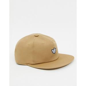 アディダス adidas Originals メンズ キャップ スナップバック 帽子 Samstag Snapback Cap In Brown ブラウン|fermart