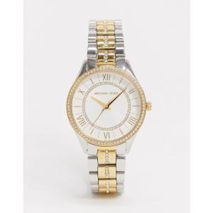 マイケル コース Michael Kors メンズ 腕時計 ブレスレットウォッチ MK4454 Lauryn bracelet watch in mixed metal マルチカラー|fermart